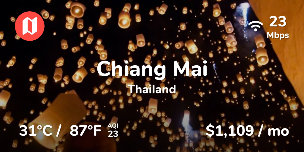 Cost of Living in Chiang Mai  Prices Updated Sep 2019