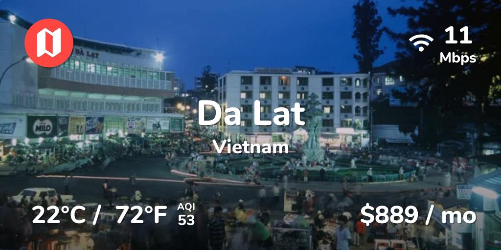 Cost of Living in Da Lat. Prices in Jan 2018