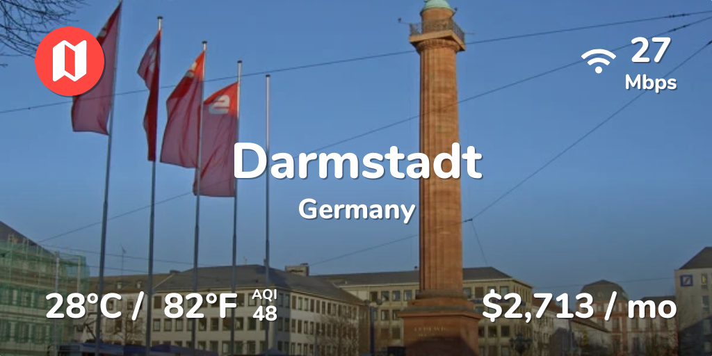 Weather Darmstadt