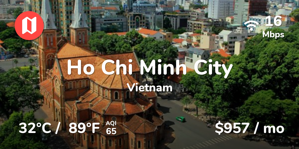 Cost of Living in Ho Chi Minh City  Prices Updated Aug 2019