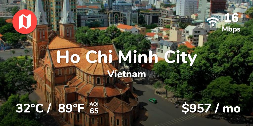 Ho Chi Minh City for Digital Nomads
