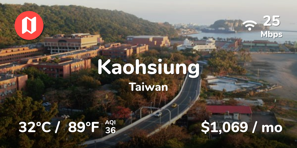 Cost of Living in Kaohsiung  Prices Updated Sep 2019