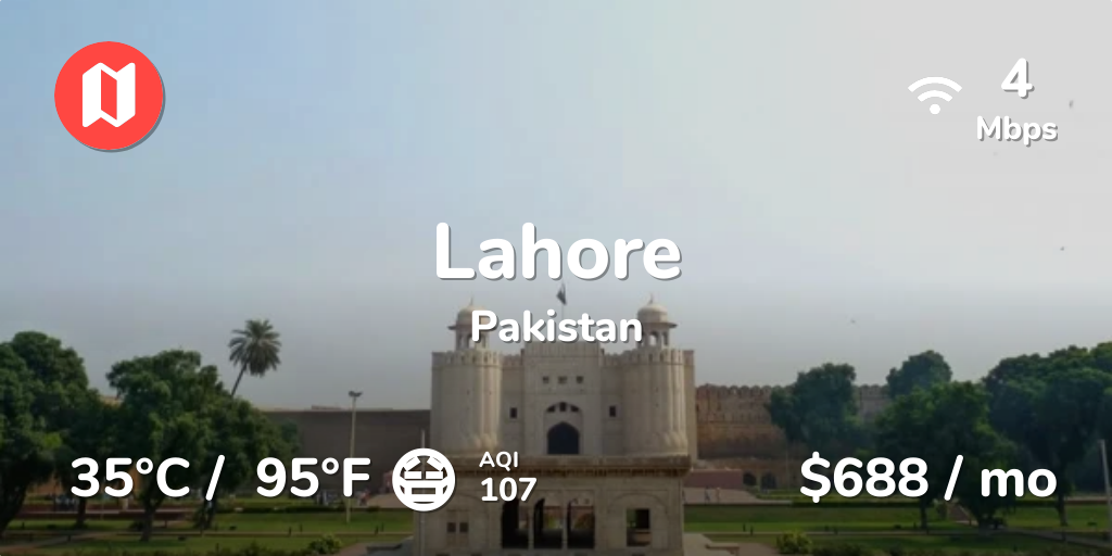 Cost of Living in Lahore  Prices Updated Sep 2019