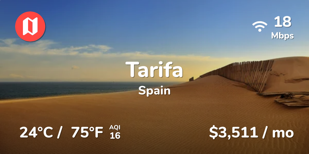 Cost of Living in Tarifa  Prices Updated Sep 2019