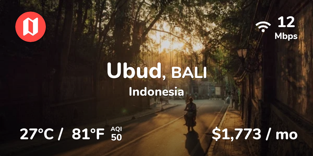 Cost of Living in Ubud, Bali  Prices Updated Sep 2019
