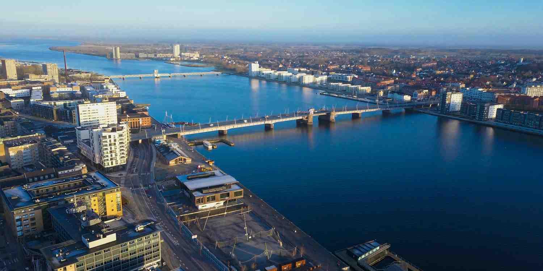 Background image of Aalborg