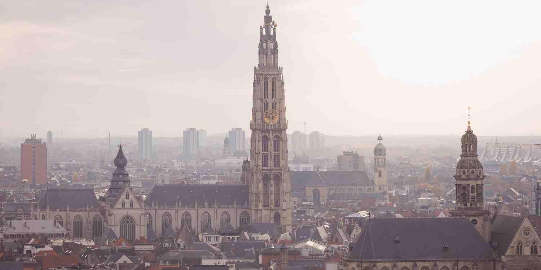 Background image of Antwerp