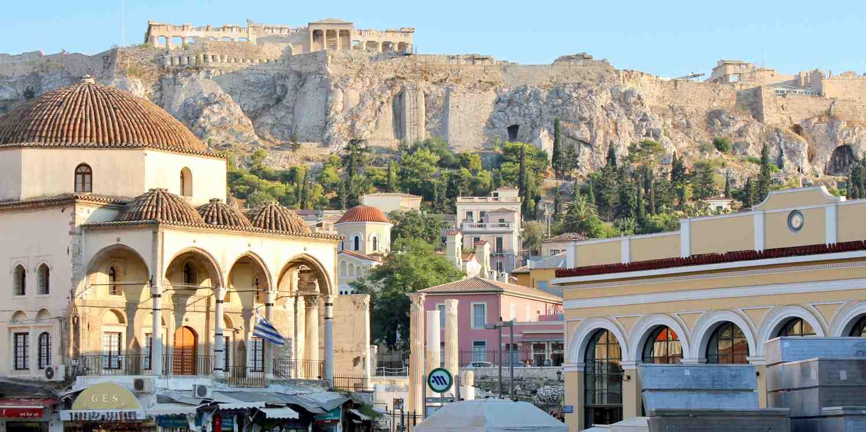 Background image of Athens