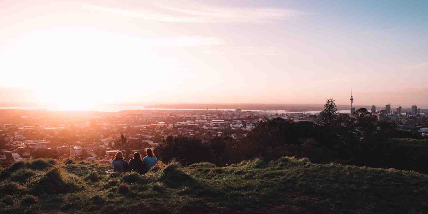 Background image of Auckland
