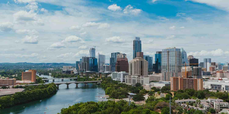 Background image of Austin