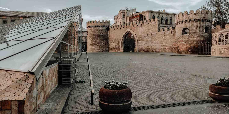 Background image of Baku