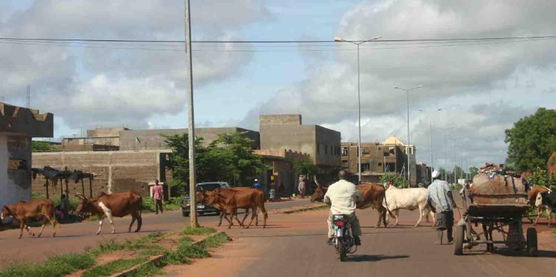 Background image of Bamako