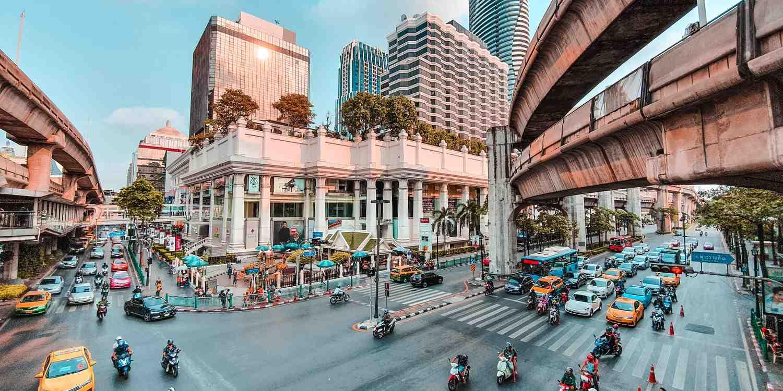 Background image of Bangkok
