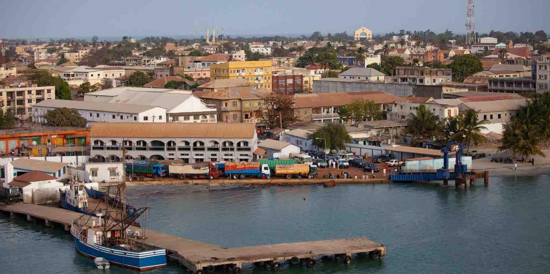 Background image of Banjul