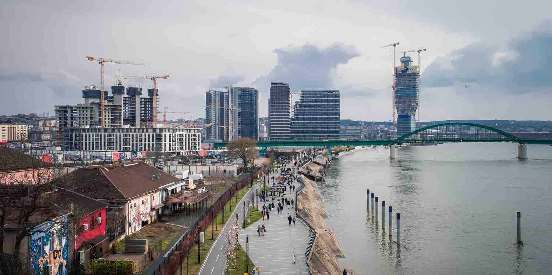 Background image of Belgrade