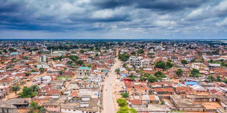 Background image of Benin City