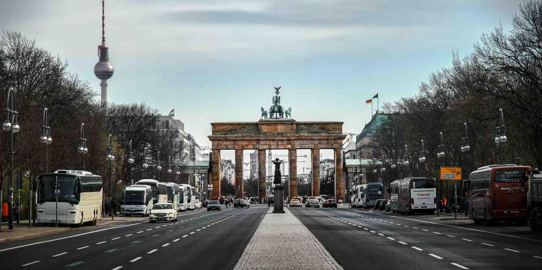 Background image of Berlin