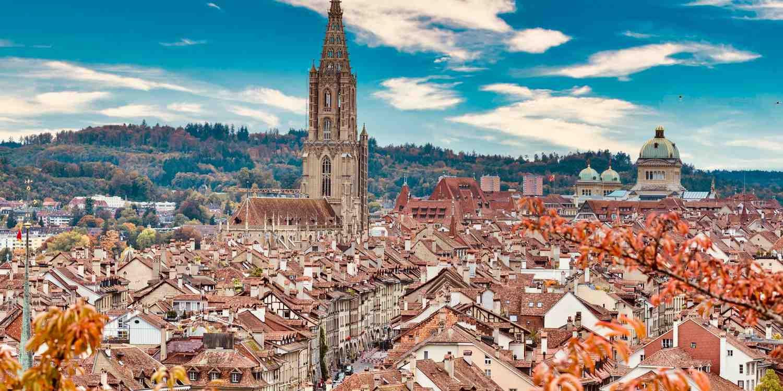 Background image of Bern