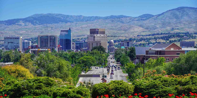 Background image of Boise