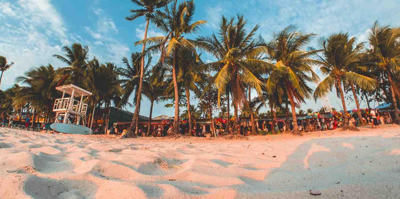 Background image of Boracay