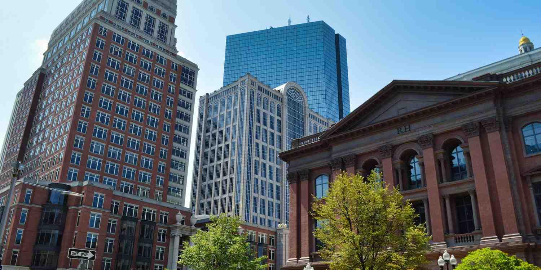Background image of Boston
