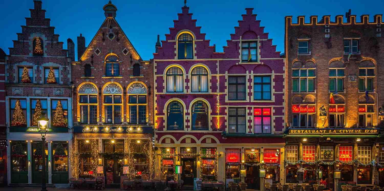 Background image of Bruges