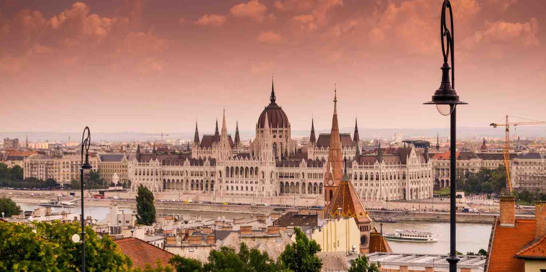 Background image of Budapest