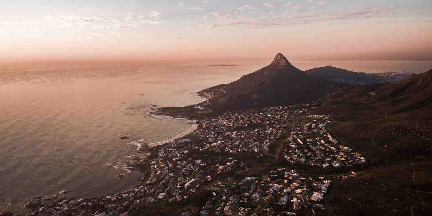 Background image of Cape Town