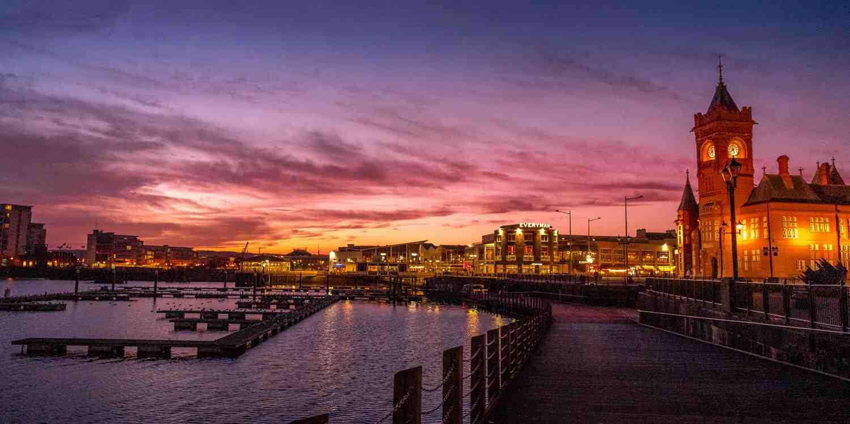 Background image of Cardiff