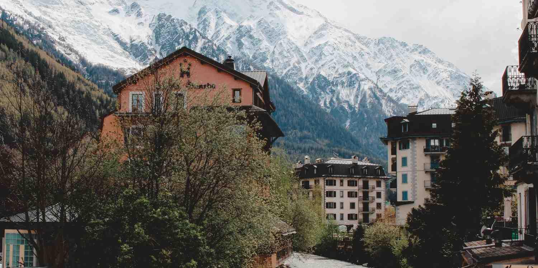 Background image of Chamonix