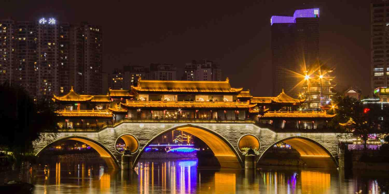 Background image of Chengdu