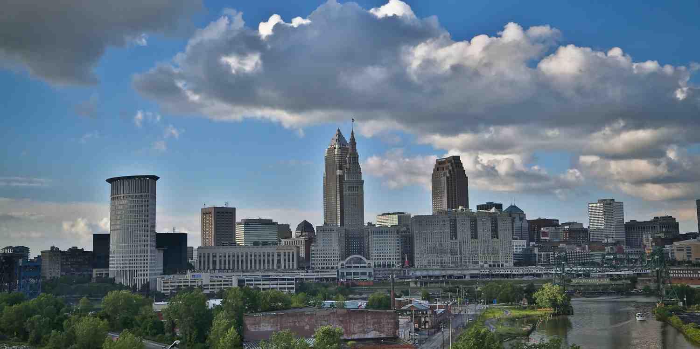 Background image of Cleveland