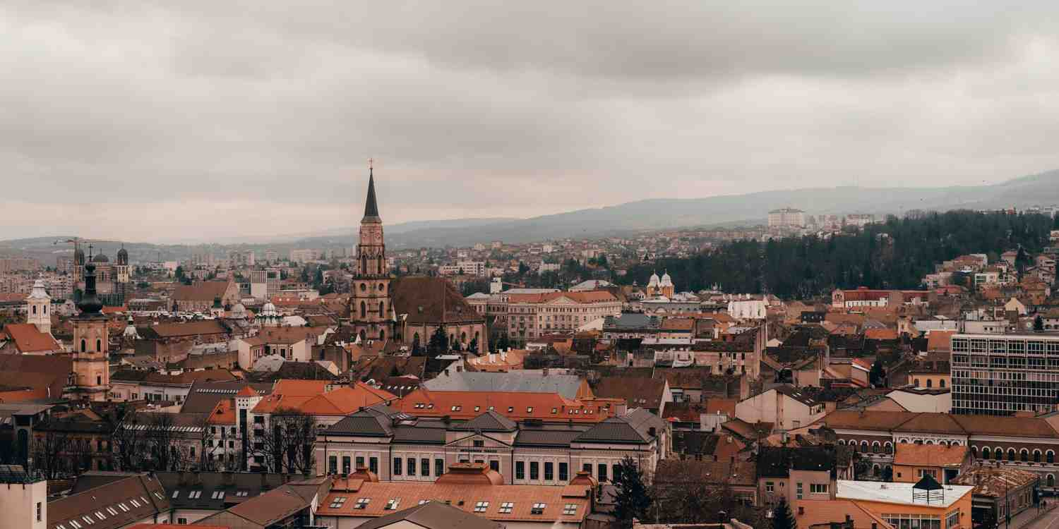 Background image of Cluj