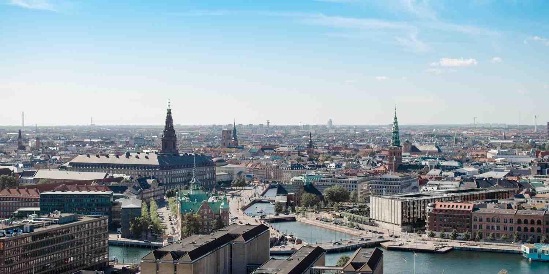 Background image of Copenhagen