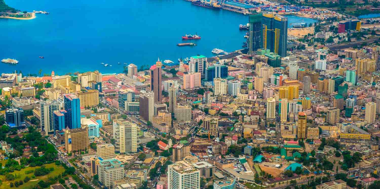 Background image of Dar es Salaam