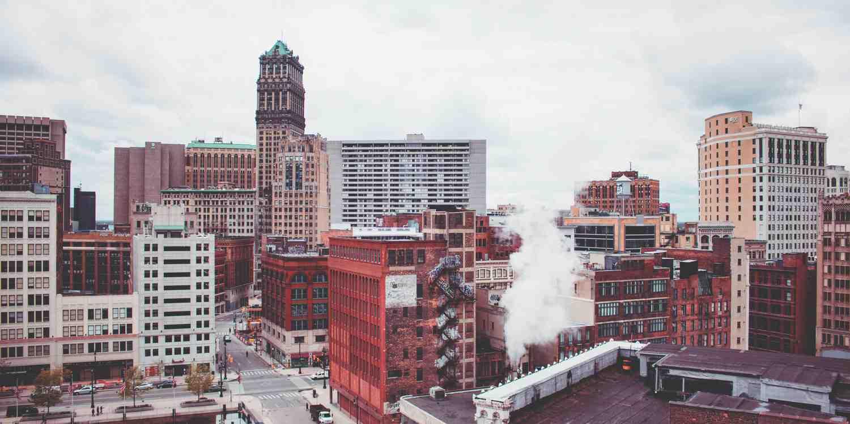 Background image of Detroit