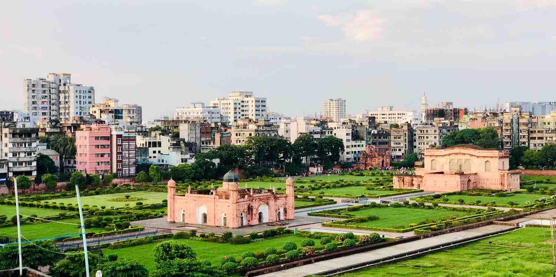 Background image of Dhaka