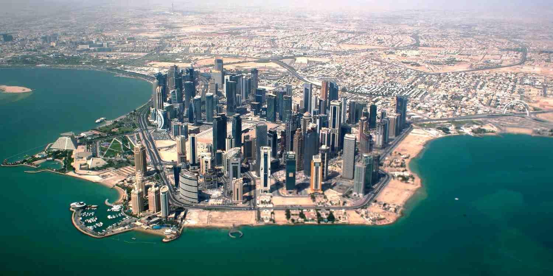 Background image of Doha