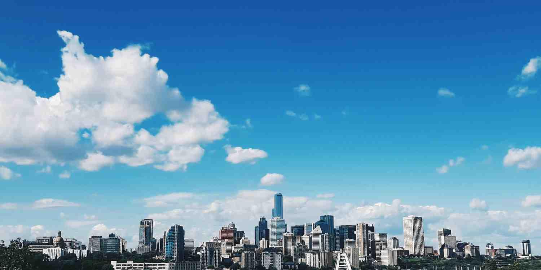 Background image of Edmonton