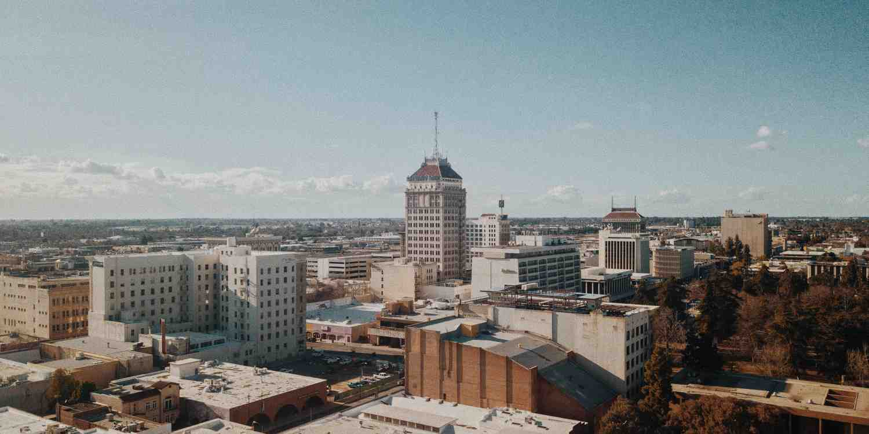 Background image of Fresno