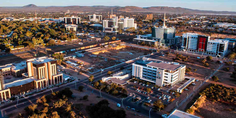 Background image of Gaborone