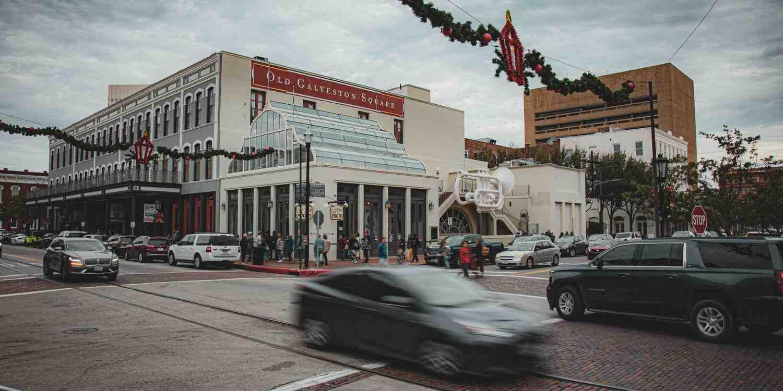 Background image of Galveston
