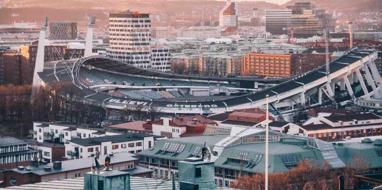 Background image of Gothenburg