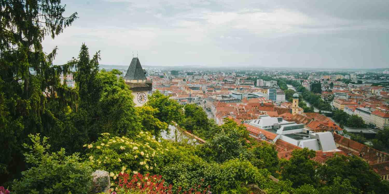 Background image of Graz