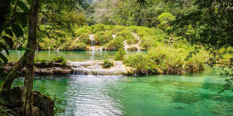 Background image of Guatemala City