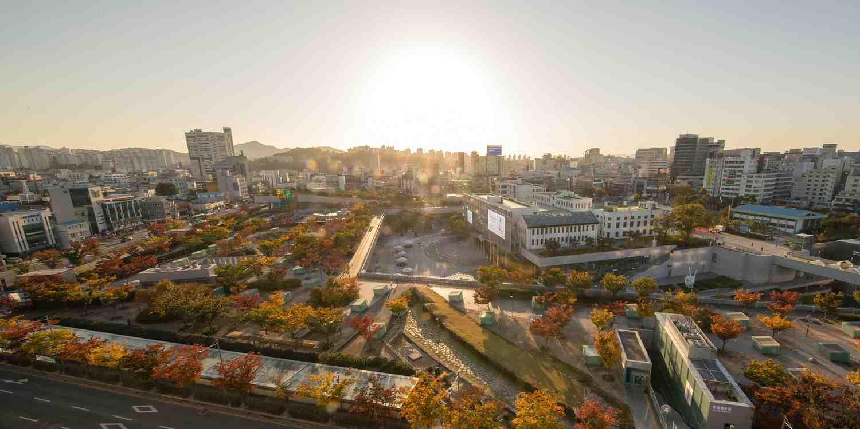 Background image of Gwangju