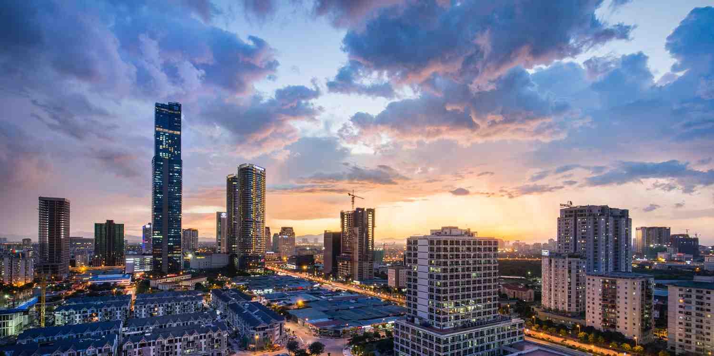 Background image of Hanoi