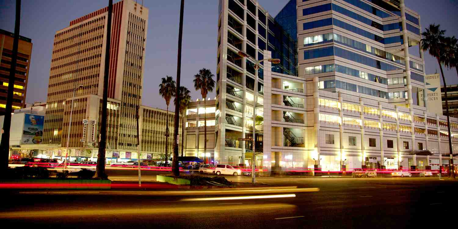 Background image of Harare
