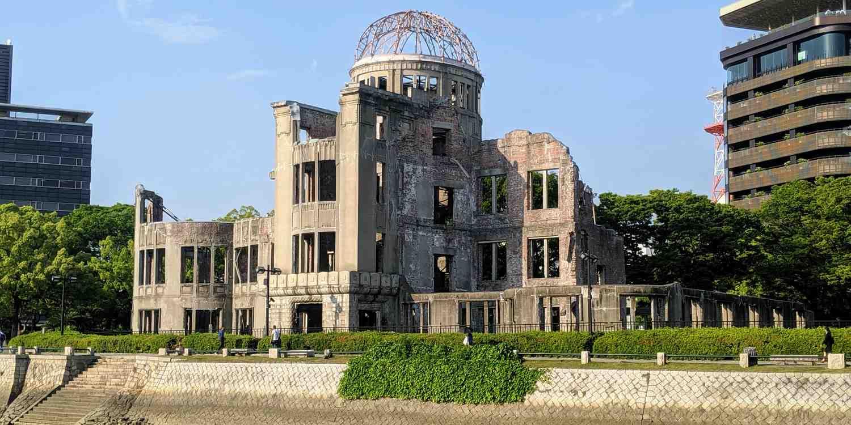 Background image of Hiroshima