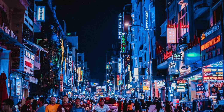 Background image of Ho Chi Minh City